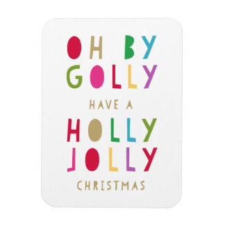 Oh By Golly | Holiday Magnet