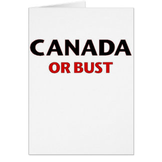 Oh Canada Cards
