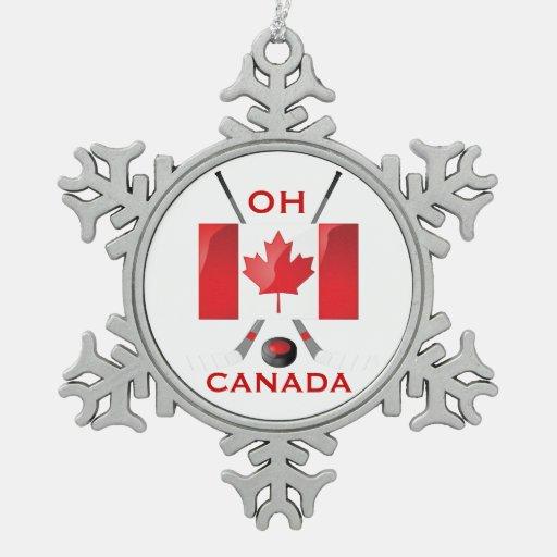 OH CANADA ORNAMENT