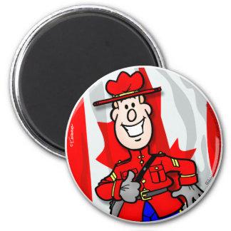 Oh Canada EH! 6 Cm Round Magnet