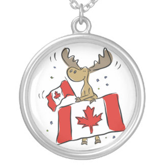 OH CANADA STERLING NECKLACE