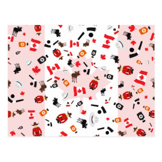 Oh Canada- what Canada is famous for Postcard