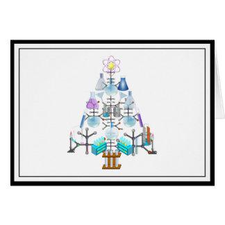Oh Chemist Tree, Oh Christmas Tree Card