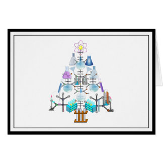 Oh Chemist Tree, Oh Christmas Tree Greeting Card