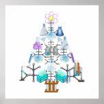 Oh Chemist Tree, Oh Christmas Tree Poster