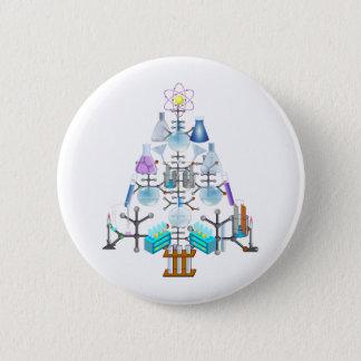 Oh Chemistry, Oh Chemist Tree 6 Cm Round Badge
