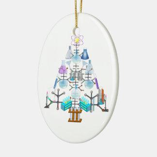 Oh Chemistry, Oh Chemist Tree Ceramic Oval Decoration