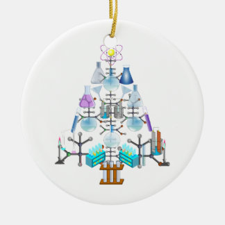 Oh Chemistry, Oh Chemist Tree Christmas Ornament