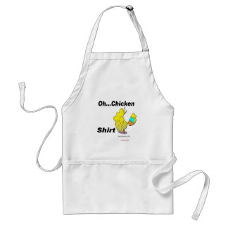 Oh Chicken Shirt Aprons
