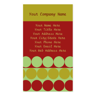 Oh Christmas Tree Business Card Templates