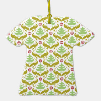 Oh Christmas Tree Double-Sided T-Shirt Ceramic Christmas Ornament