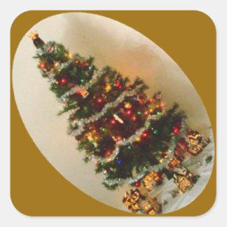 Oh, Christmas Tree Diamond Sticker