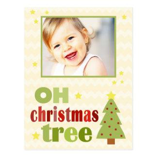 Oh Christmas Tree Holiday Postcard