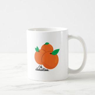 Oh Clementine Basic White Mug