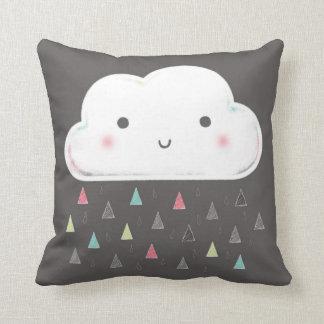 Oh cloud, it is raining triangles! + Monogram Throw Cushions