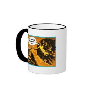 Oh come on, make an effort, man! coffee mug