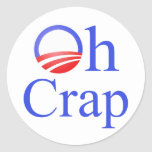 Oh Crap anti-Obama Shirts and Gifts Sticker