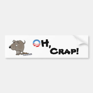 Oh Crap Bumper Sticker