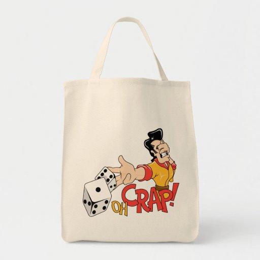 Oh Crap - Craps Table - Dice Game Humor Tote Bag