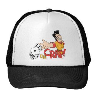 Oh Crap - Craps Table - Dice Game Humor Trucker Hats