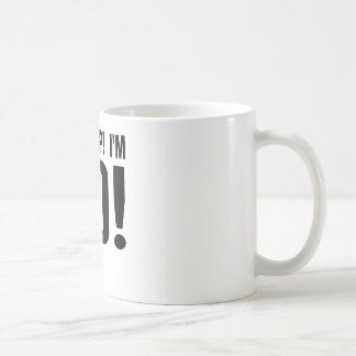 Oh Crap! I'm 80! 80th Birthday Coffee Mug