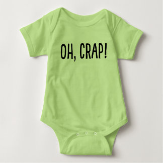 Oh, Crap! (I've Been Cloned!) Baby Bodysuit