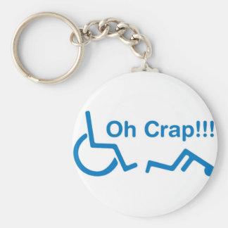 oh crap key ring
