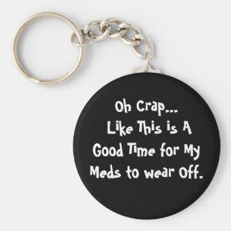 Oh Crap - Keychain