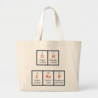 Oh Crap Periodic Table Bag