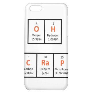 Oh Crap Periodic Table Case iPhone 5C Case