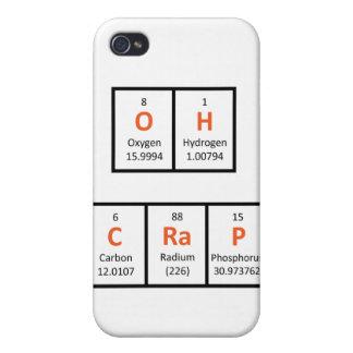 Oh Crap Periodic Table Case iPhone 4 Cases