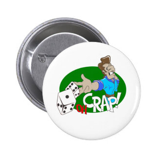 OH Crap T-shirts and Gifts Pinback Button