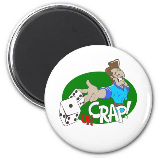 OH Crap! T-shirts and Gifts. Refrigerator Magnets