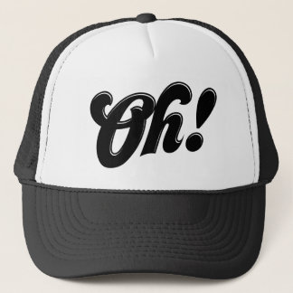 Oh! Cute Retro Typography Hat