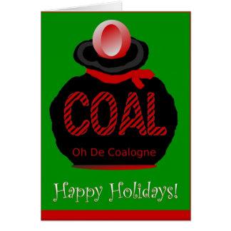 Oh De Coalogne Greeting Card