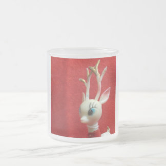 Oh Dear Deer Frosted Glass Coffee Mug