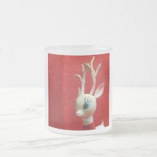 Oh Dear Deer Frosted Glass Mug
