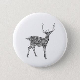 Oh Deer 6 Cm Round Badge