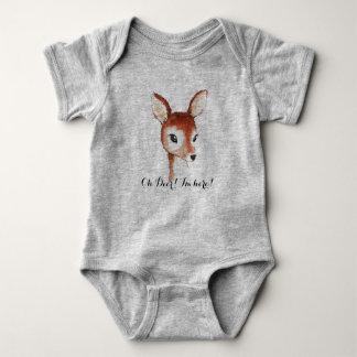 Oh Deer Baby Bodysuit