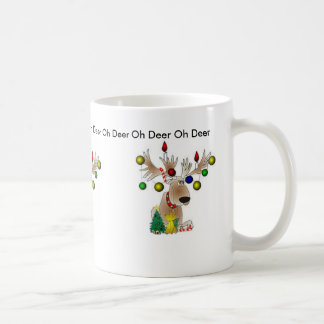Oh Deer Christmas Mug