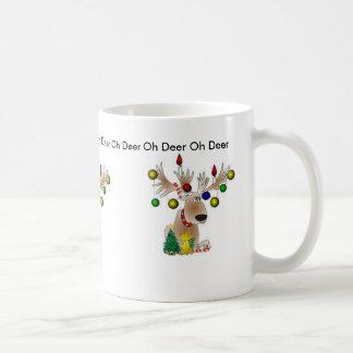 Oh Deer Christmas Mug
