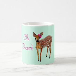 """Oh Deer"" Fawn Mug"