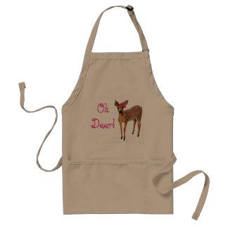 """Oh Deer"" Fawn Standard Apron"