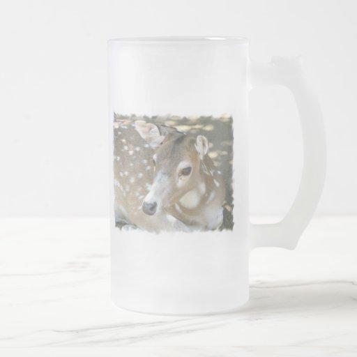 Oh Deer Frosted Beer Mug