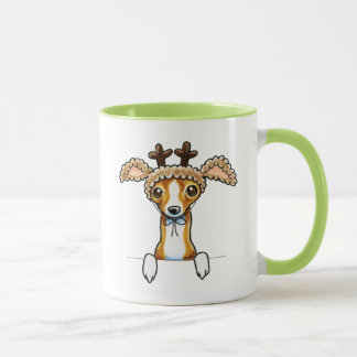 Oh Deer Italian Greyhound Mug