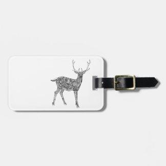 Oh Deer Luggage Tag