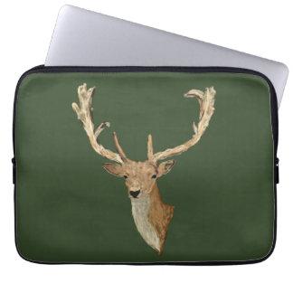 Oh Deer - Natural looking Deer - Forest Life Laptop Sleeve