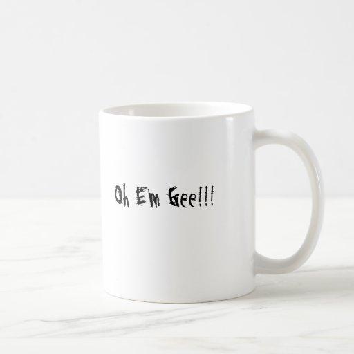 Oh Em Gee!!! , I Heart Coffee!!! Coffee Mugs