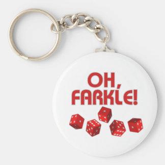Oh, Farkle! Key Ring
