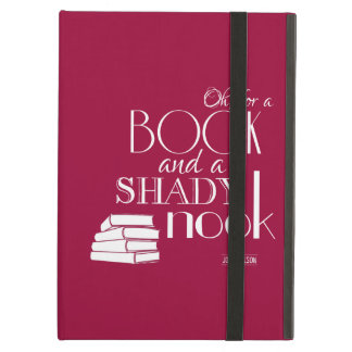 Oh For a Book and a Shady Nook Case For iPad Air